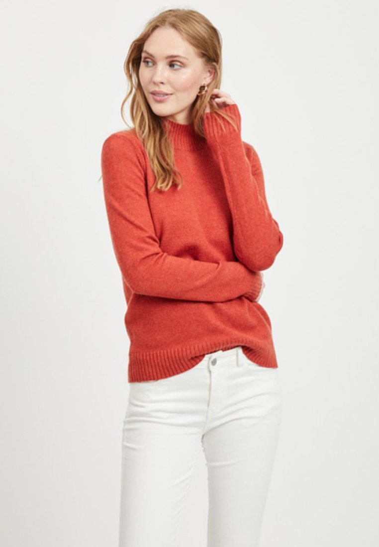 Vila - Sweter - red