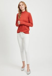 Vila - Sweter - red - 1