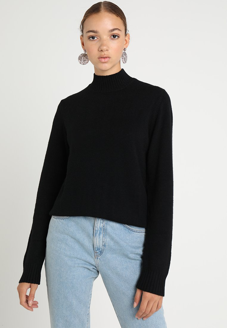 Vila - Jumper - black