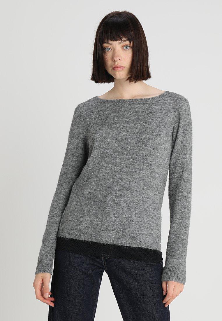 Vila - VIKEY - Jumper - medium grey melange