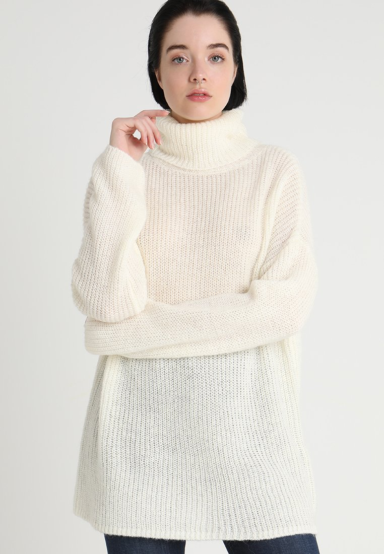 Vila - VIOLASA ROLL NECK - Jumper - cloud dancer