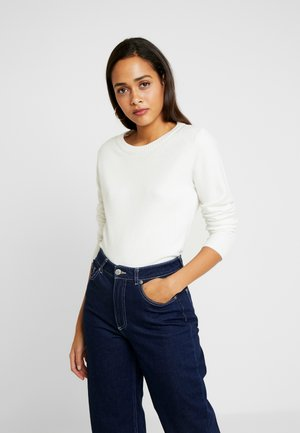 VIRIL O NECK - Jumper - white alyssum