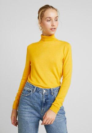 VIBOLONIA ROLLNECK - Pullover - golden rod