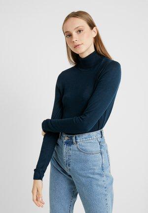 VIBOLONIA ROLLNECK - Sweter - navy blazer