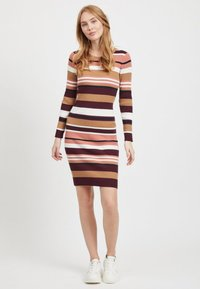 Vila - Shift dress - brick dust - 1
