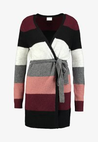 Vila - Cardigan - tawny port/brick dust/black - 3