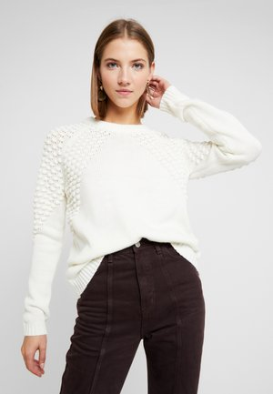 Sweter - whisper white