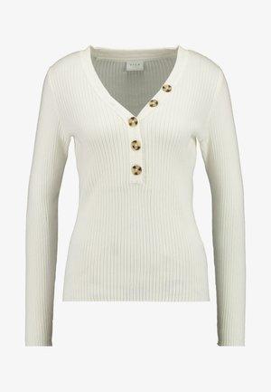 Sweter - whisper white