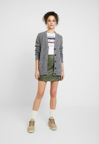 Vila - Cardigan - medium grey melange - 1