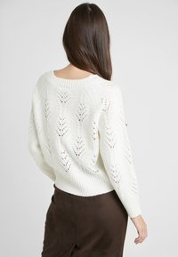 Vila - Sweter - whisper white - 2