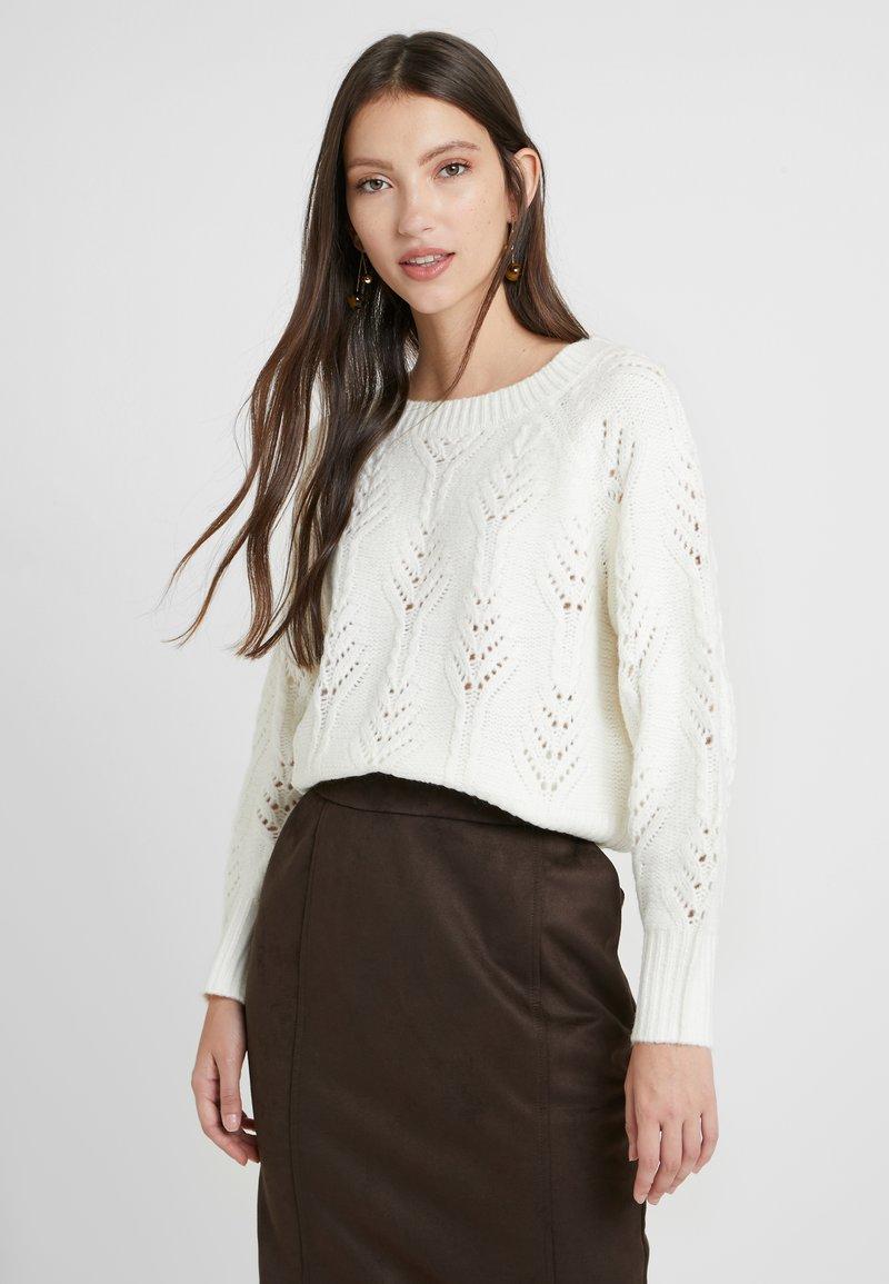 Vila - Sweter - whisper white