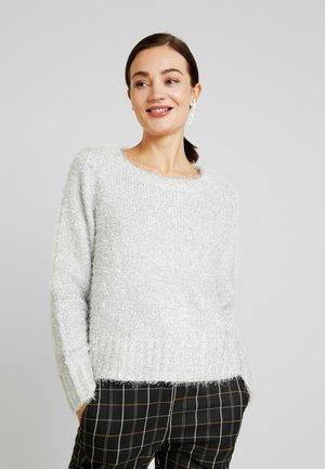 VIGLIMTRA - Sweter - whisper white/silver
