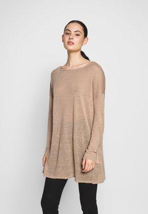 VIFILAK - Sweter - mottled beige