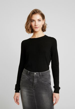 VIBOLONIA  - Sweter - black