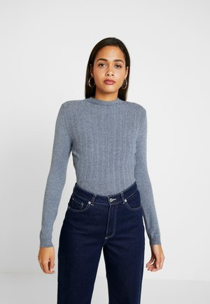 VIANDENA FUNNEL NECK - Jumper - china blue