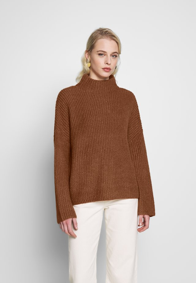 VIGLIPPA - Neule - copper brown