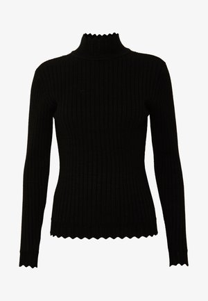 VIOLIVI FUNNEL NECK - Pullover - black