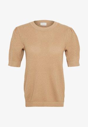 VICHASSA  - Print T-shirt - beige