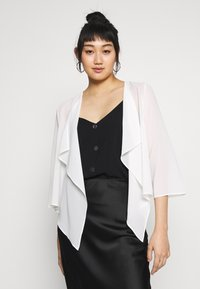 Vila - VIALLI 3/4 COVER UP - Blazer - cloud dancer - 0