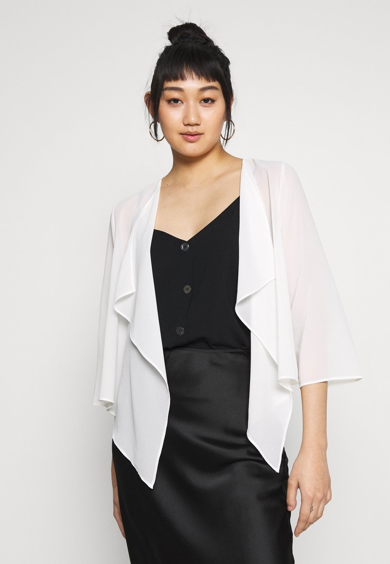 Vila - VIALLI 3/4 COVER UP - Blazer - cloud dancer