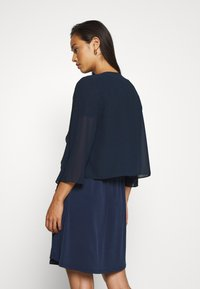 Vila - VIALLI 3/4 COVER UP - Blazer - navy blazer - 2