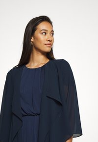 Vila - VIALLI 3/4 COVER UP - Blazer - navy blazer - 4