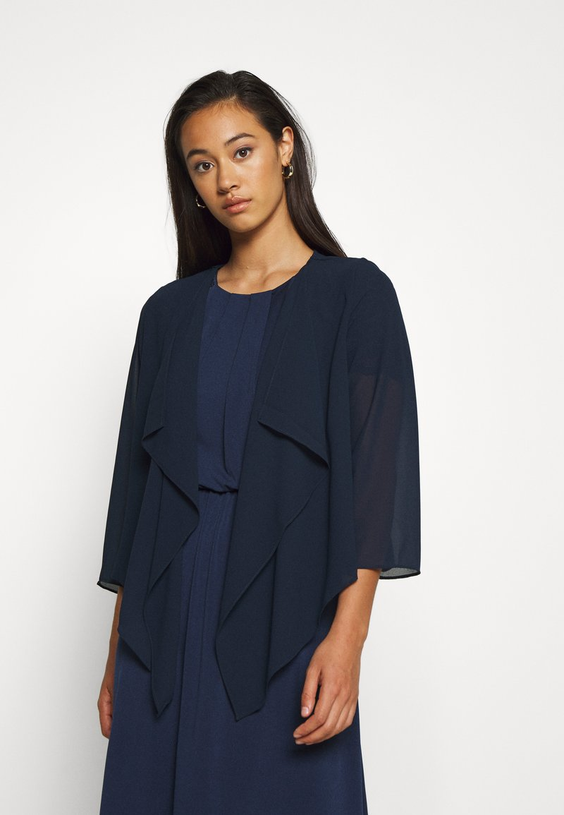 Vila - VIALLI 3/4 COVER UP - Blazer - navy blazer