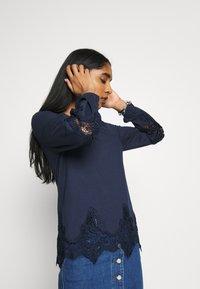 Vila - VISELACE NEW  - Sweatshirt - navy blazer - 3