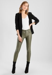 Vila - VIHER 3/4 NEW - Blazer - black - 2