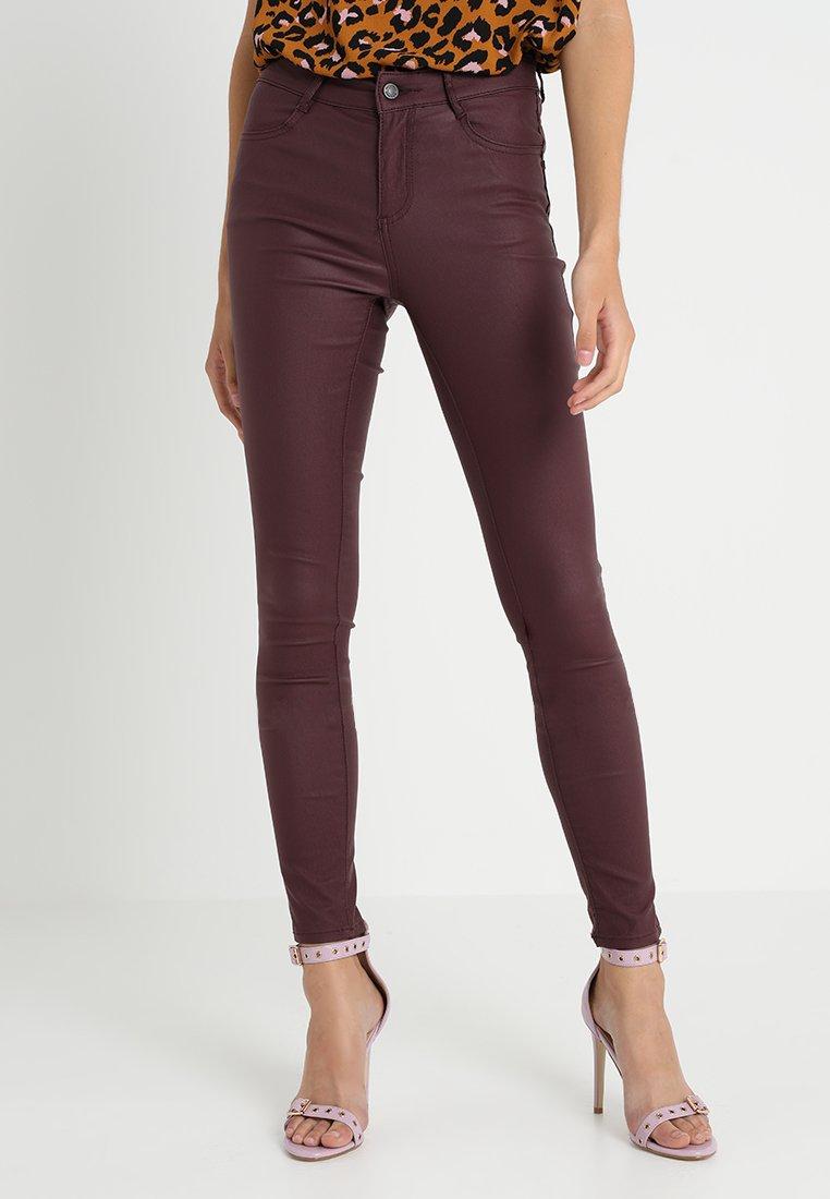 Vila - VICOMMIT  - Jeans Skinny Fit - winetasting