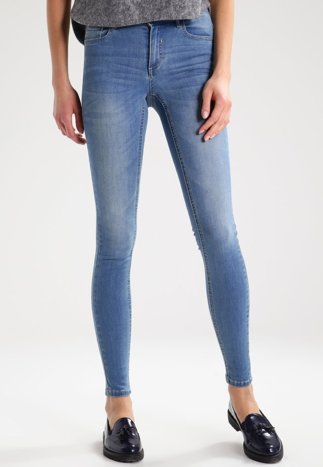 VICOMMIT - Jeans Skinny Fit - medium blue denim