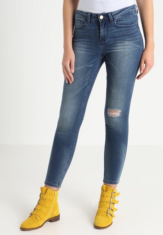 VICOMMIT FELICIA 7/8 - Jeans slim fit - medium blue denim