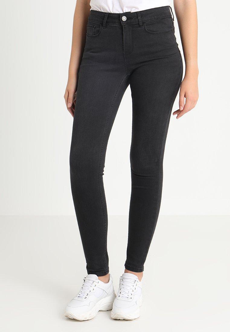 Vila - VICOMMIT FELICIA - Jeans Slim Fit - black