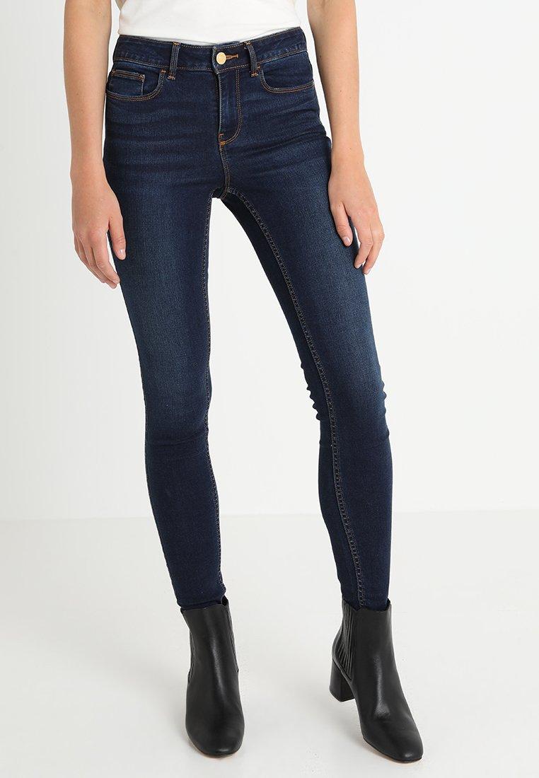 Vila - VICOMMIT FELICIA - Jeans Slim Fit - dark blue denim