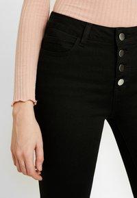 Vila - Jeans Skinny Fit - black - 3