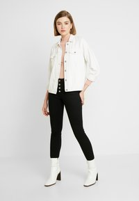 Vila - Jeans Skinny Fit - black - 1