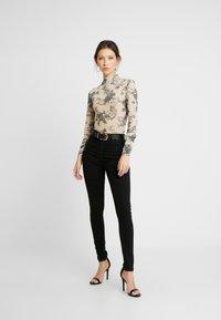 Vila - Jeans Skinny - black denim - 1