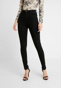 Vila - Jeans Skinny - black denim - 0