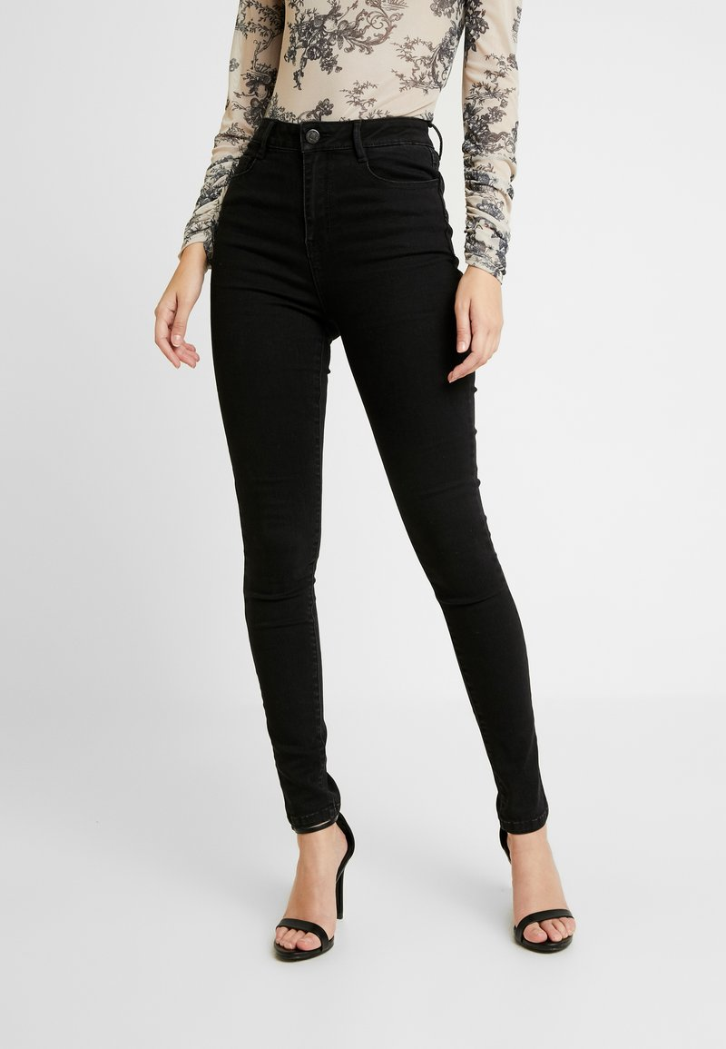 Vila - Jeans Skinny - black denim