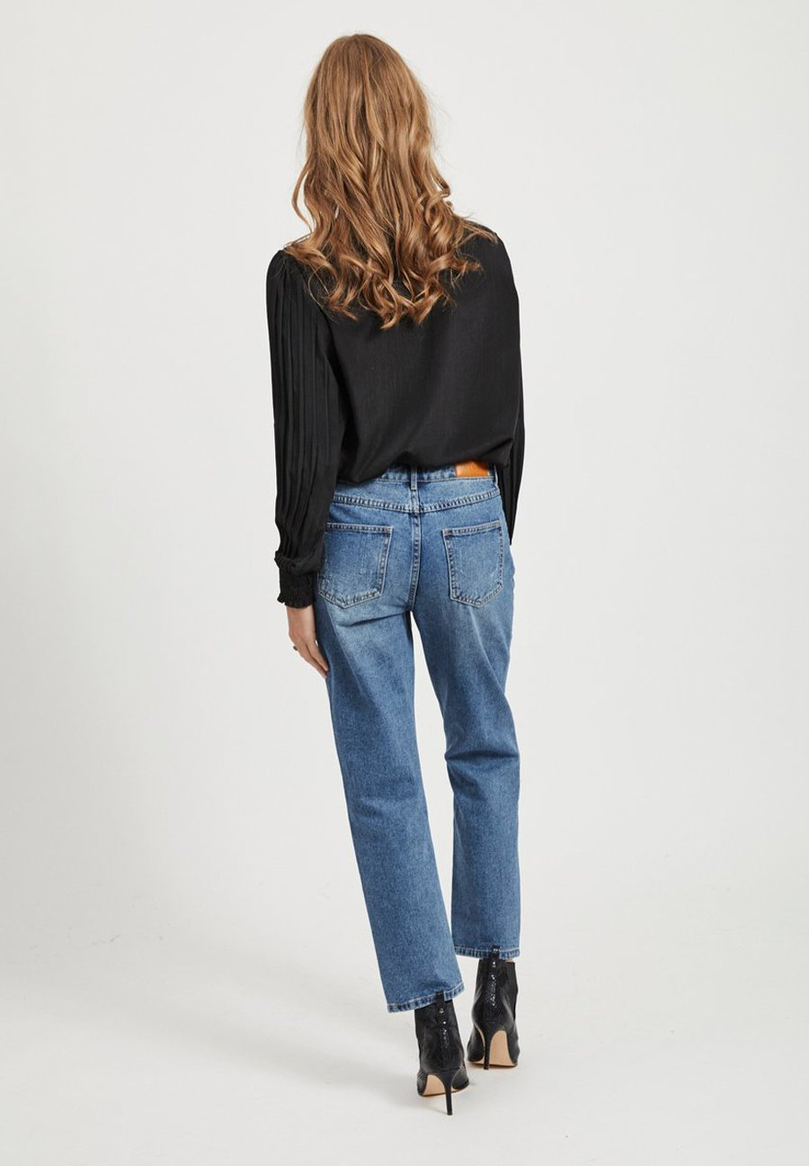 Vila Jeansy Straight Leg - medium blue denim