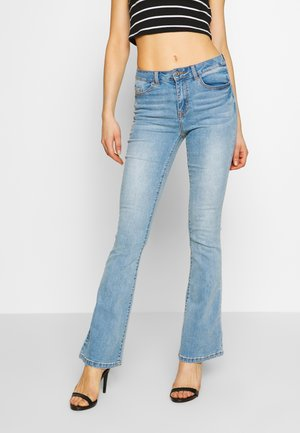 VIEKKO - Široké džíny - light blue denim