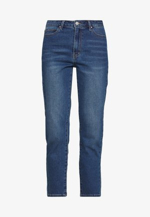 VISOMMER - Straight leg jeans - medium blue denim