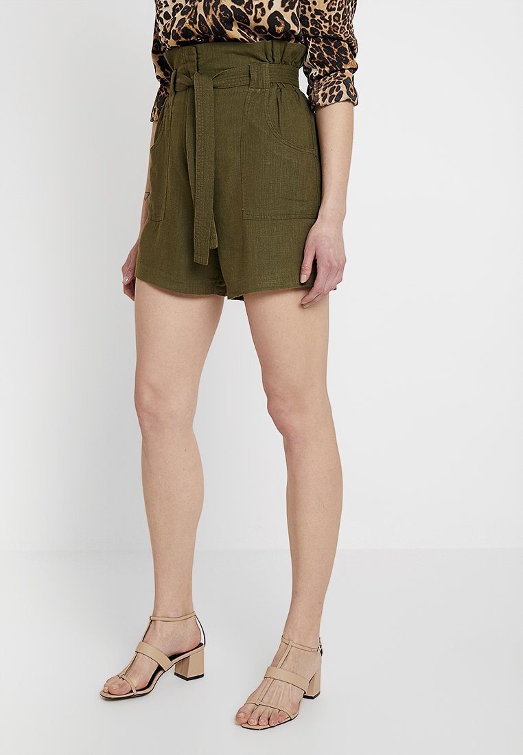 Vila - VISAFARI - Shorts - dark olive