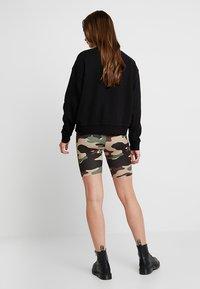 Vila - VICOOL BIKER - Shorts - sandshell/brown/green/black - 2