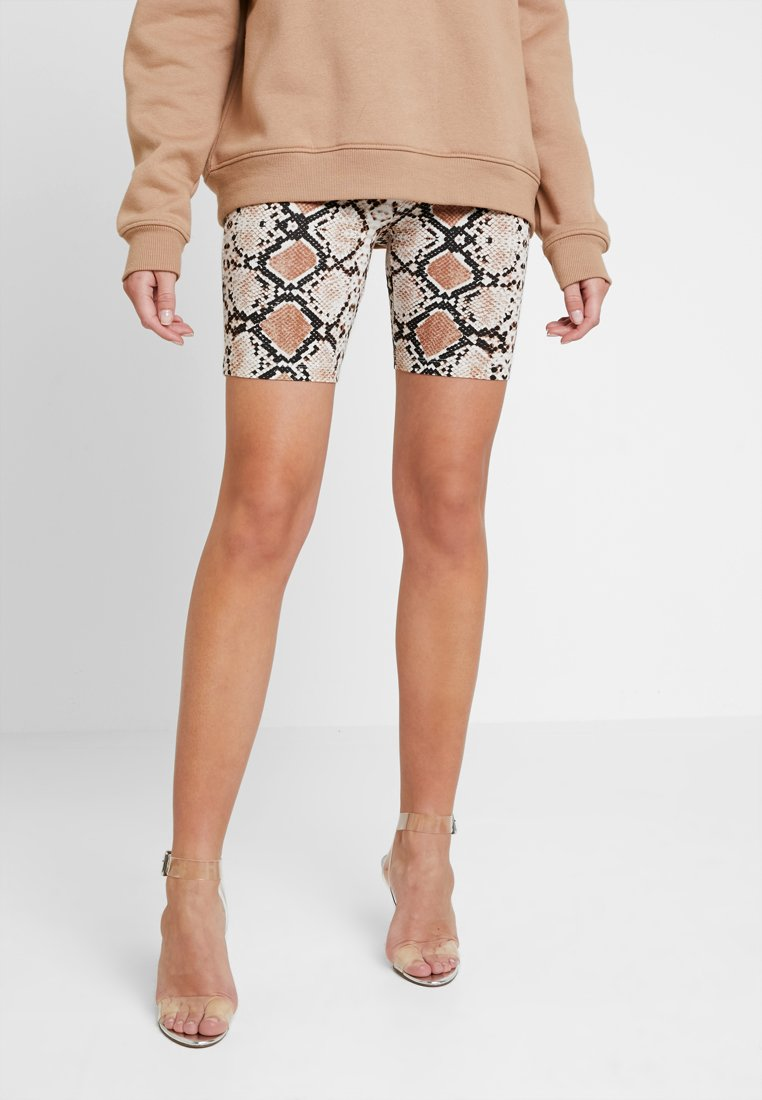 Vila - VICOOL BIKER - Shorts - toffee