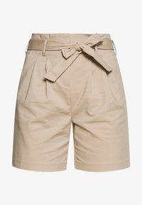 Vila - VISOFINA HWRE SHORTS - Shorts - beige - 4