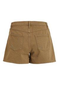Vila - VIANNABEL  - Shorts di jeans - dark olive - 5