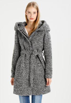 VICAMA NEW - Cappotto classico - light grey melange/black