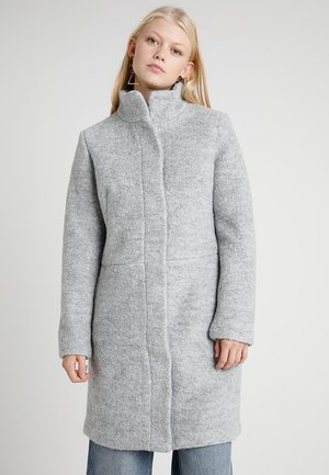Classic coat - light grey/melange