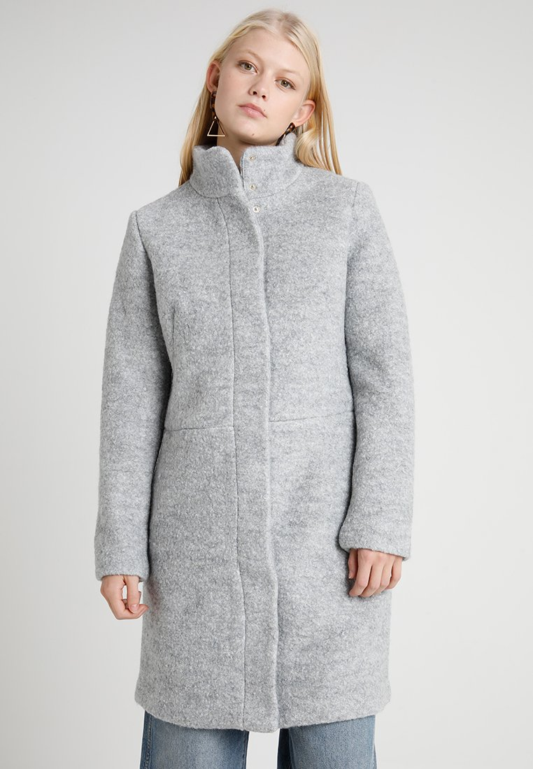 Vila - VIALANIS COAT - Kurzmantel - light grey/melange